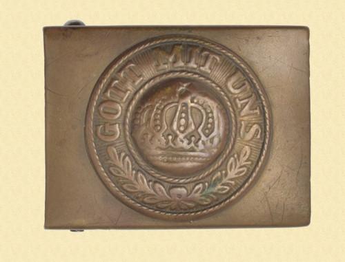 GERMAN WW1 IMPERIAL NAVY BUCKLE - M7253