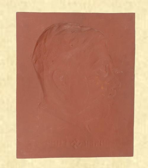 HITLER PROFILE BUST(CAST IRON) - C41628