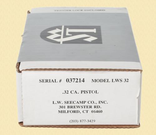 LW SEECAMP CO LWS 32 - C40861