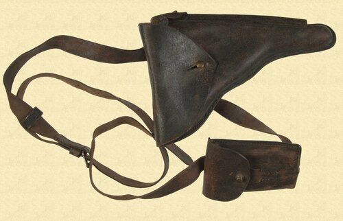 UNIDENTIFIED LUGER PISTOL HOLSTER - M2939