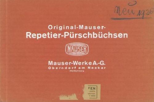 ORIGINAL-MAUSER-REPETIER-PURSCHBUCHSEN - M1430