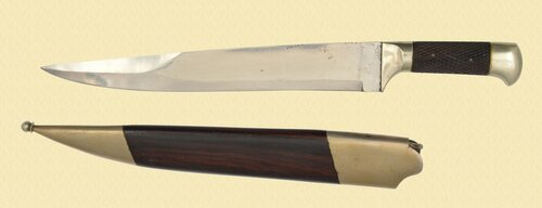 EUROPEAN HUNTING BOWIE KNIFE - C37764
