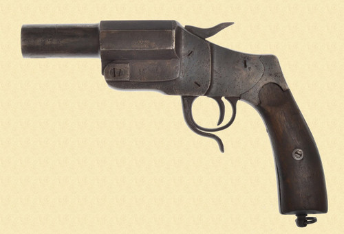 GERMAN WW1 1894 HEBEL SIGNAL PISTOL - C28816