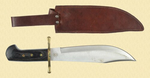 CHIPAWAY CUTLERY BOWIE KNIFE - M5895