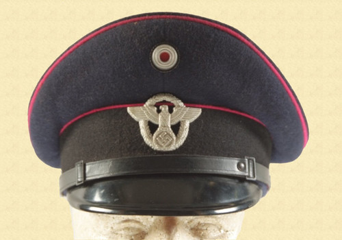 GERMAN VISOR HAT - M3069