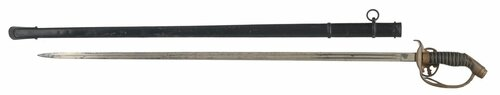 PRUSSIAN M-89 OFFICERS SWORD - C21976