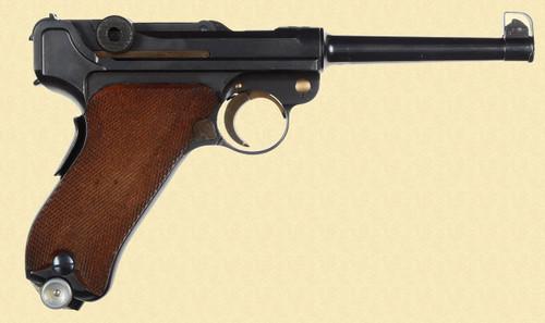 MAUSER 1906/34 SWISS BANNER - D13392