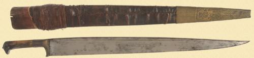 N INDIA/AFGHAN KYHBER KNIFE - C25228