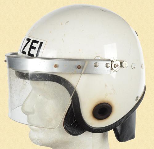 EUROPEAN POLIZEI RIOT HELMET - C20079