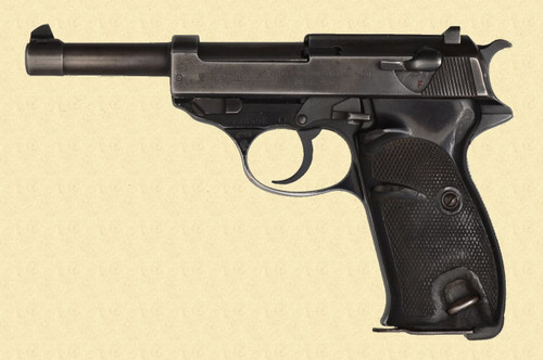 WALTHER P.38 PORTUGUESE CONTRACT - D14842