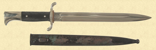 GERMAN FIREMANS DRESS BAYONET - M2678