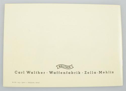 Die WALTHER P 38 Kal. 9mm (08)