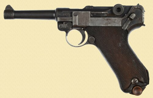 MAUSER P.08 1936 TURKISH ARMY CONTRACT - C24292