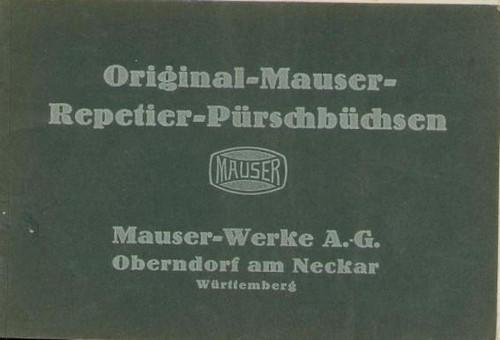 ORIGINAL-MAUSER-REPETIER-PURSCHBUCHSEN - M1433