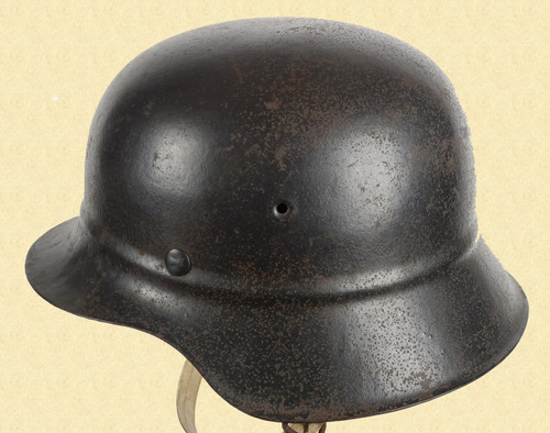 GERMAN WW2 M42 BEADED HELMET - C26167