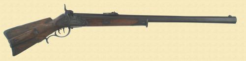 GERMAN 1842/60 WALLBUCHSE RIFLE - M2552