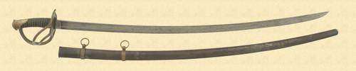 US M1840 CAVALRY SABRE - M3058
