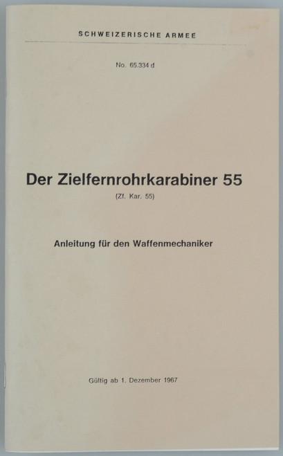 Der Zielfernrohrkarabiner 55 (Zf. Kar. 55)