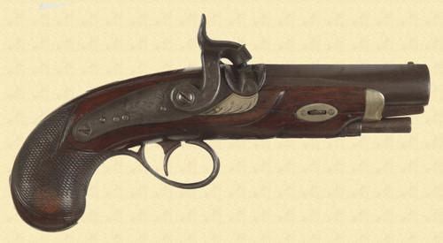 E.H. CLARK & CO MEMPHIS PISTOL - M4754