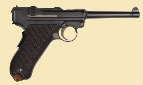 DWM LUGER 1906 BULGARIAN CONTRACT - C40425
