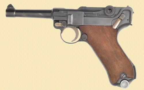 MAUSER LUGER 1939 BANNER SWEDISH COMMERCIAL - Z38723