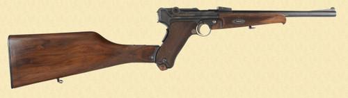 DWM 1920 LUGER CARBINE - D13893