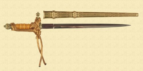 GERMAN MINIATURE DAGGER - M3607