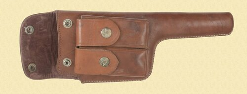 CHINESE MAUSER C96 BROOMHANDLE BOLO PISTOL HOLSTER - C36958