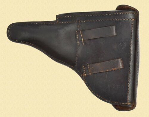 GERMAN LUGER HOLSTER AUSTRIAN CONTRACT - C41312