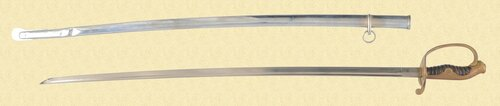 JAPANESE ARMY PARADE SWORD - C16894