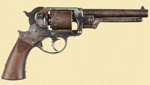STARR ARMS MODEL 1858 DA ARMY REVOLVER - M5195