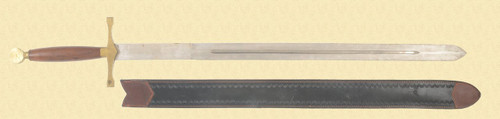 REPRODUCTION RENAISSANCE SWORD - C36735