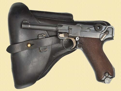 DWM LUGER 1933 POLICE - C40973