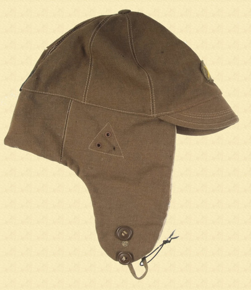 JAPANESE COLD WEATHER CAP - C11597