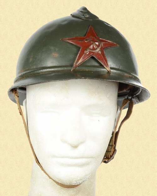 RUSSIAN M1915 ADRIAN HELMET - C26915