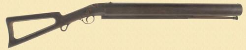 C C BRAND PERCUSSION WHALING GUN - C23816