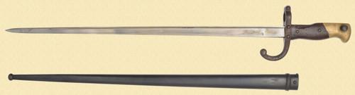 FRENCH MODEL 1874 BAYONET - C39745