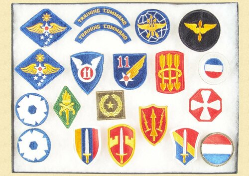 SET OF 20 US Shoulder Patches
