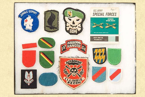 US MILITARY PATCHES & INSIGNIA - M1840
