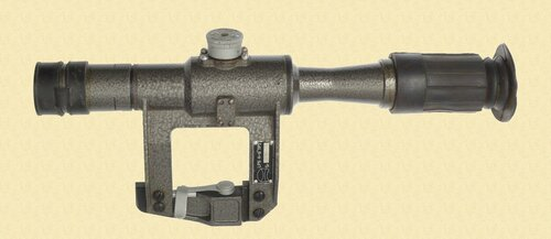ROMANIAN OPTICAL SNIPER SCOPE - M7224