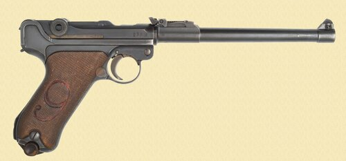DWM LUGER 1917 ARTILLERY (RED NINE) - C40403