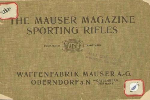 THE ORIGINAL MAUSER MAGAZINE SPORTING RIFLES - M1429