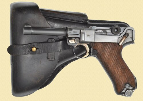 MAUSER LUGER S/42  G DATE POLICE - C40971