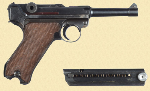 MAUSER P.08 BYF 1940 LATE COMMERCIAL - C25732