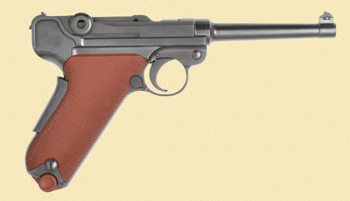 WF BERN 1929 RED GRIP SWISS LUGER - C40482