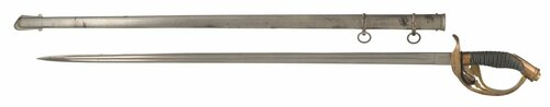PRUSSIAN M-89 OFFICERS SWORD - C21974