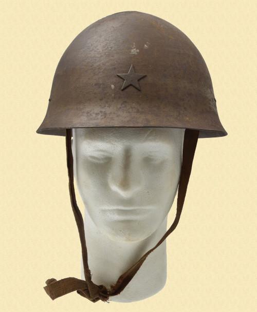 JAPANESE WWII HELMET - M7189