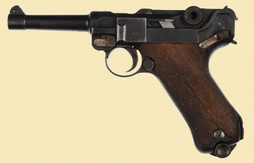 DWM P.08 1918 MILITARY LUFTWAFFE PROOFED - C24290