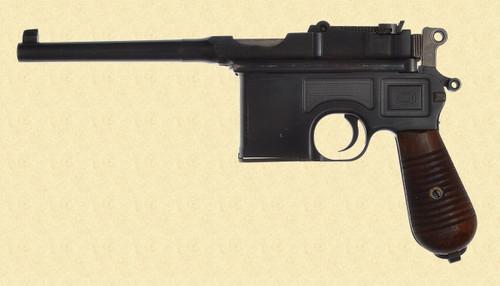 MAUSER C96 1930 BROOMHANDLE - D14897