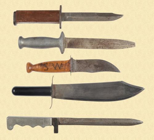 USGI THEATRE MADE KNIFE LOT - M5866